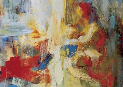 """""""Nascita""""(dalla tempesta di Giorgione). 1999 - 2000."""