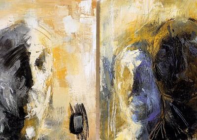 """Conversation Piece"". Dittico. 1999"