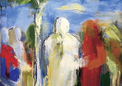 """""""Omaggio a Piero Della Francesca"""". 1997"""