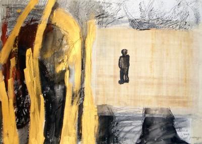 """Nel paesaggio"". 2007."