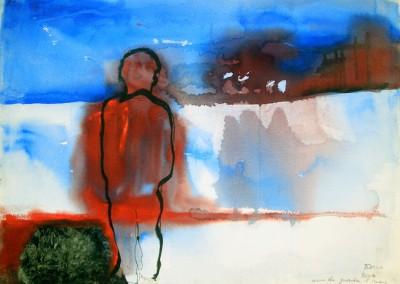 """""""Uomo che guarda il mare"""". 2006."""