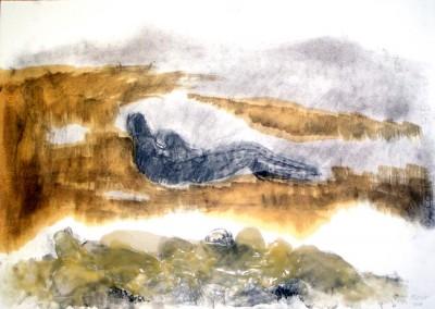 """""""Figura nel paesaggio"""". 2010."""