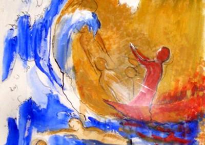 """""""Omaggio a Hokusai"""". 2002."""