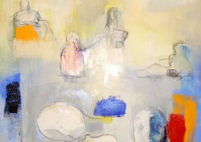 """""""Abuot a portrait"""". 2004."""