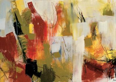 """""""Il salotto rosso"""". 2002."""