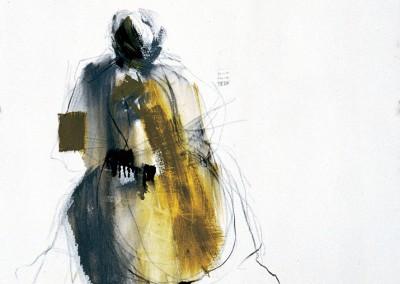 """Il violoncellista"". 2003."