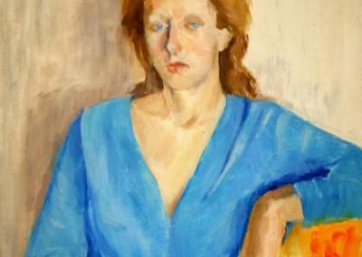 """""""Artist daughter"""". 1985."""