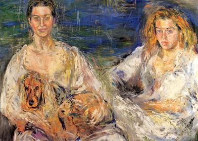 """""""Silvia e Alessandra Ferri"""". 1994."""