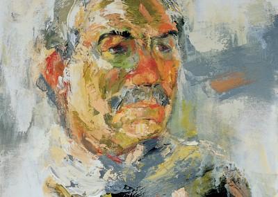 """""""Racconto di un ritratto in progress"""". 2000."""