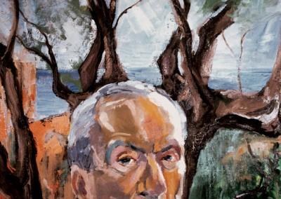 """""""Ritratto del padre"""". 1986."""