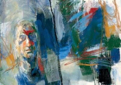 """Harrington gardens: Alla finestra"". 2002."