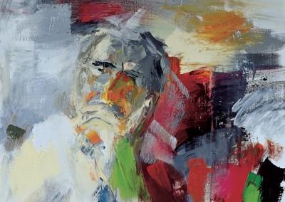 """""""Racconti di un ritratto in progress"""". 2000."""