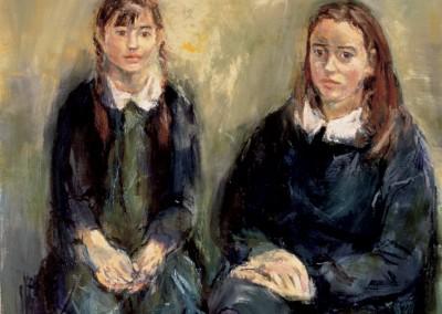 """""""Lorenza e Giulia"""". 1996."""