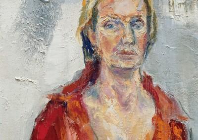 """""""Ritratto in rosso"""". 2004."""