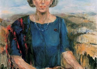 """""""Signora nella campagna inglese"""". 1992."""