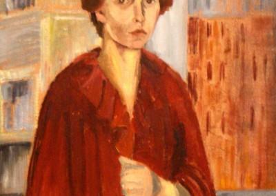 """""""Autoritratto"""".  1982."""