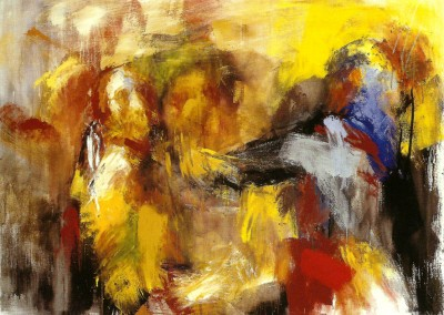 "L'orto di Getsemani II"". 2001."