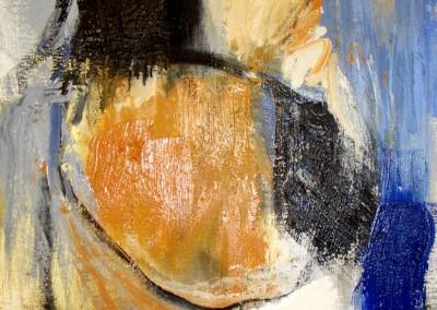 """""""Frammento in blu e orca II"""". 2003."""